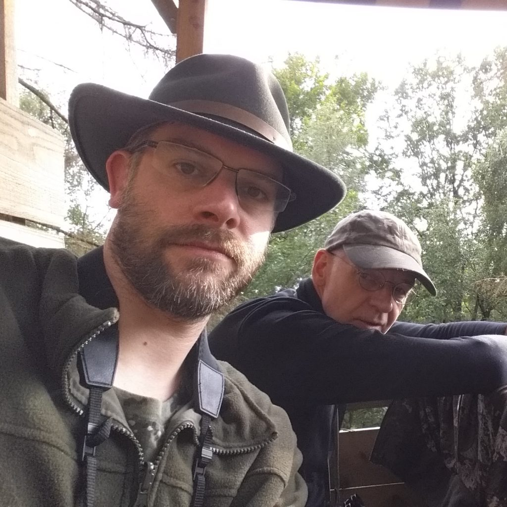 Ansitz mit meinem Vater, Sommer 2019
